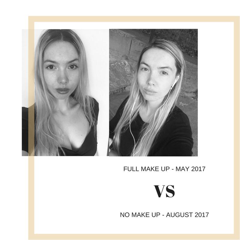 NO MAKE UP AUGUST 2017